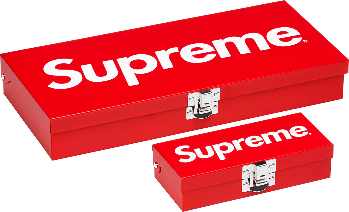 Supreme Small U0026 Large Metal Storage Box