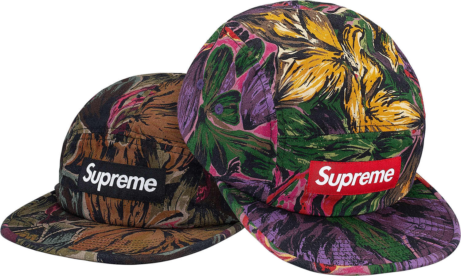 5209eba2ac6 ... promo code for supreme painted floral camp cap 120a4 b0e54