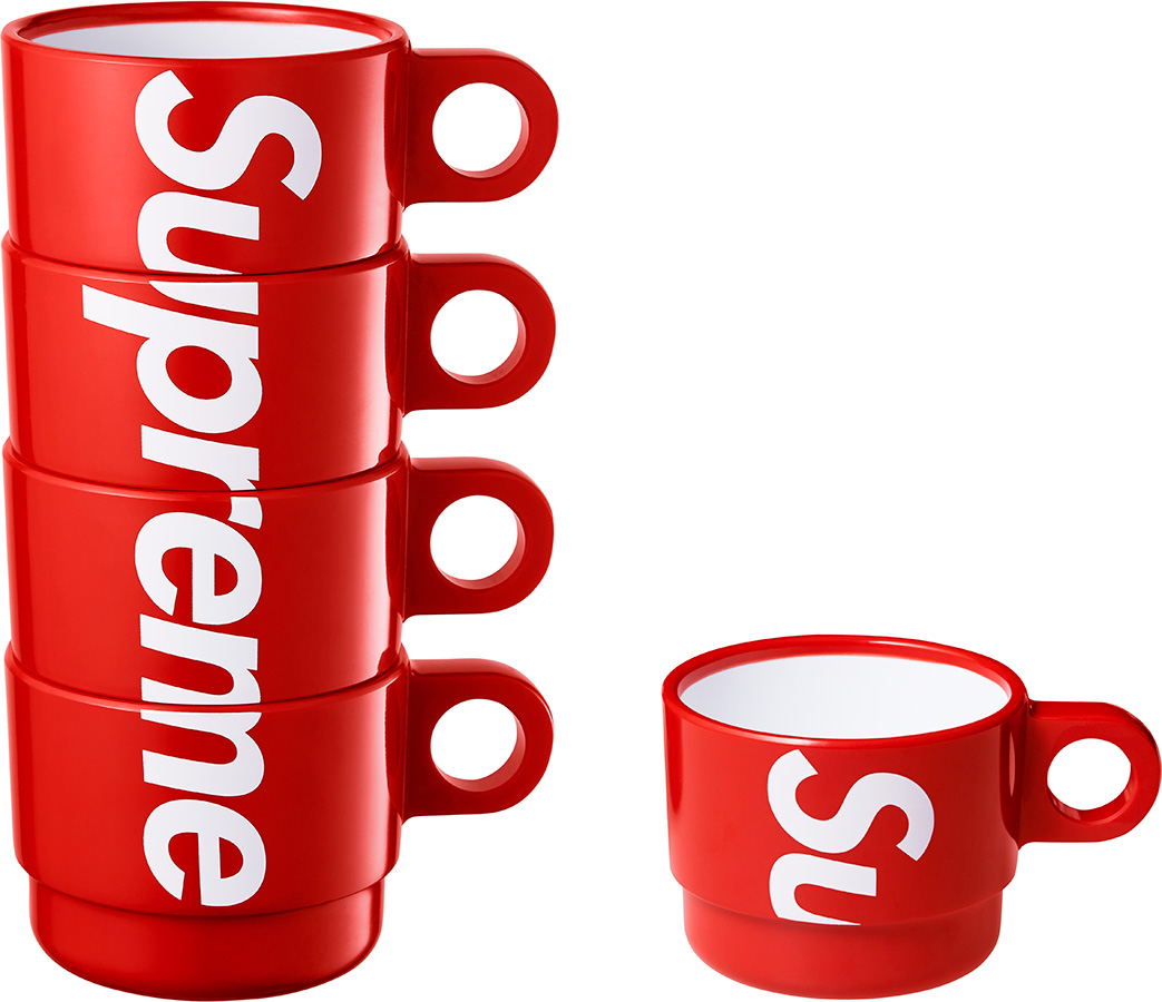 supreme stacking cups set of 4