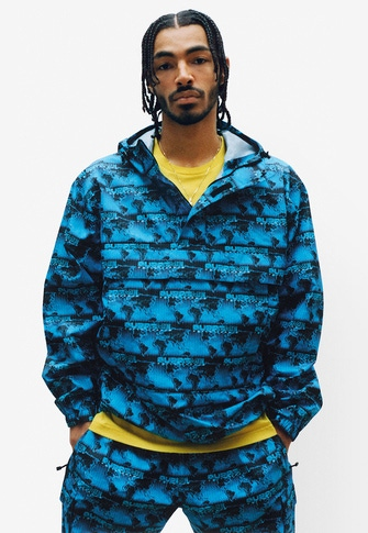World Famous Taped Seam Hooded Pullover Pocket Tee World Famous Taped Seam Cargo Pant