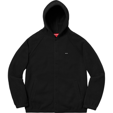 Polartec® Hooded Raglan Jacket (Black)