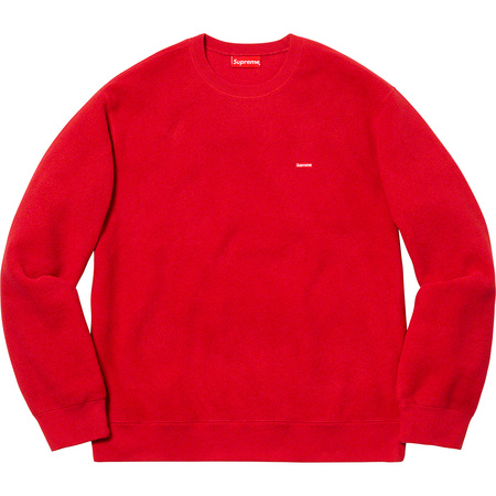 Polartec® Small Box Crewneck (Red)