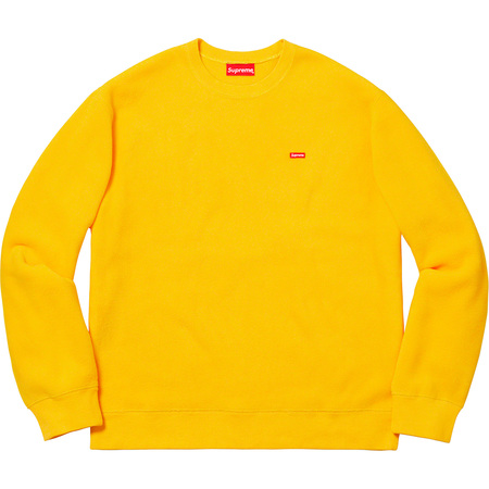 Polartec® Small Box Crewneck (Yellow)