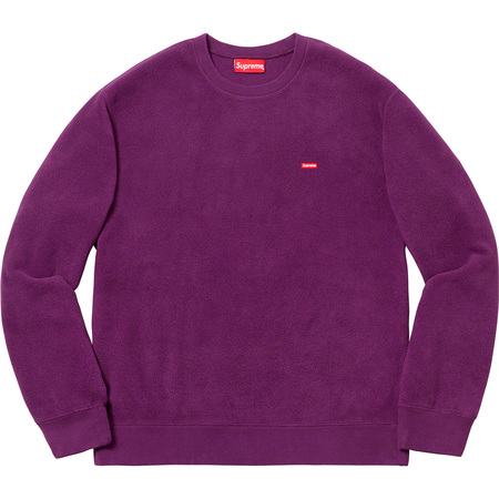 Polartec® Small Box Crewneck (Purple)