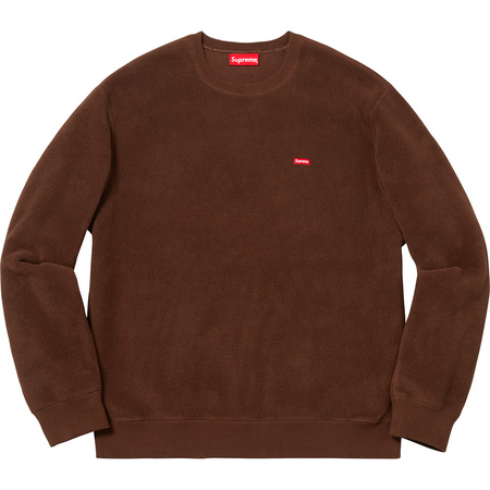 Polartec® Small Box Crewneck (Brown)