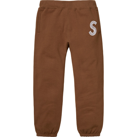 S Logo Sweatpant (Brown)