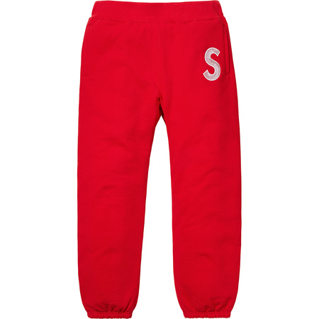 S Logo Sweatpant (Red)