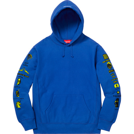 Menace Hooded Sweatshirt (Royal)