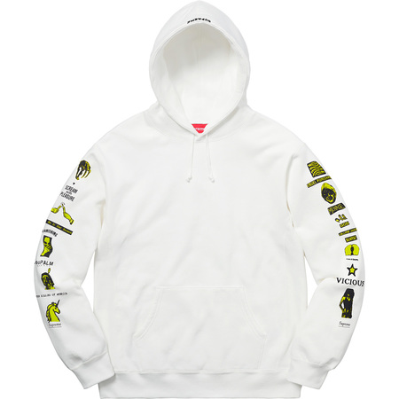Menace Hooded Sweatshirt (White)