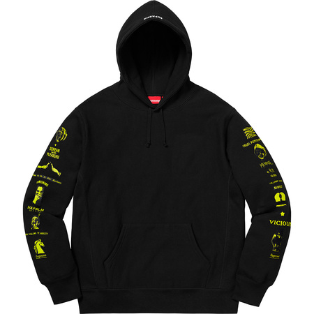 Menace Hooded Sweatshirt (Black)
