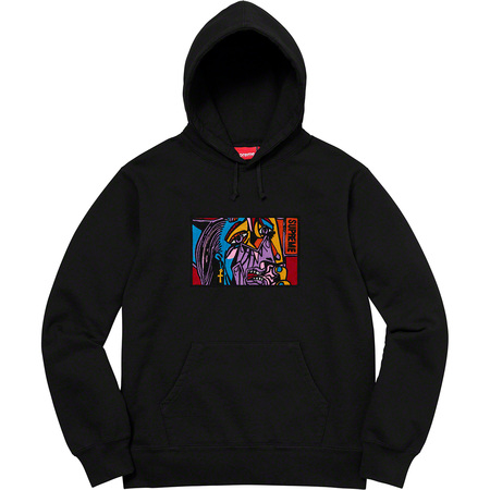 Chainstitch Hooded Sweatshirt (Black)