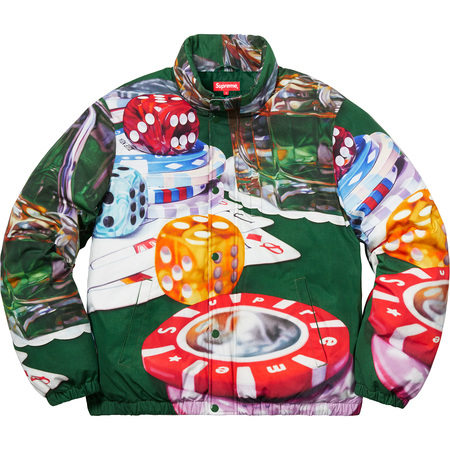Casino Down Jacket (Green)