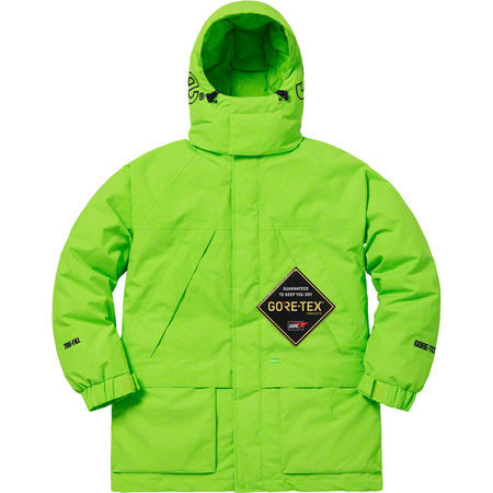 GORE-TEX 700-Fill Down Parka (Lime)