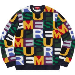 Big Letters Sweater