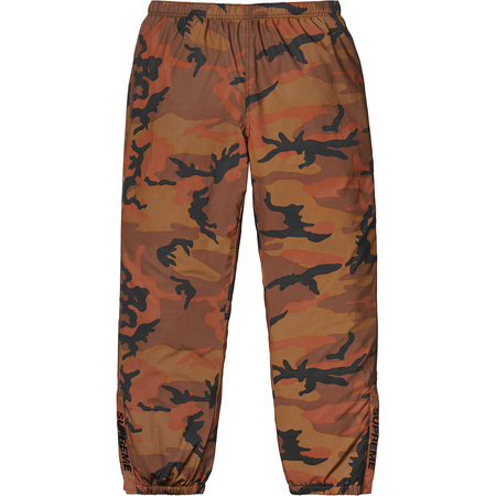 Reflective Camo Warm Up Pant (Orange Camo)