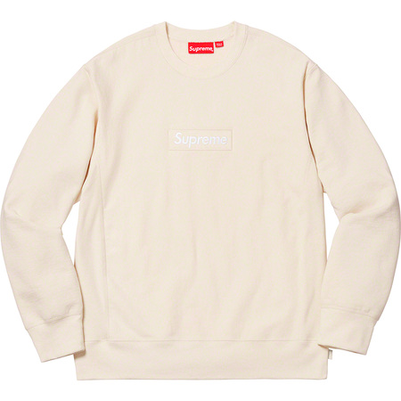 Box Logo Crewneck (Natural)
