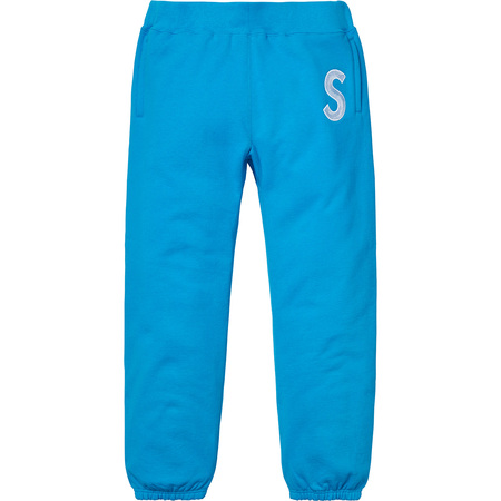S Logo Sweatpant (Bright Royal)