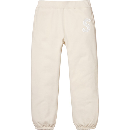 S Logo Sweatpant (Natural)