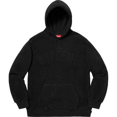 Polartec® Hooded Sweatshirt (Black)