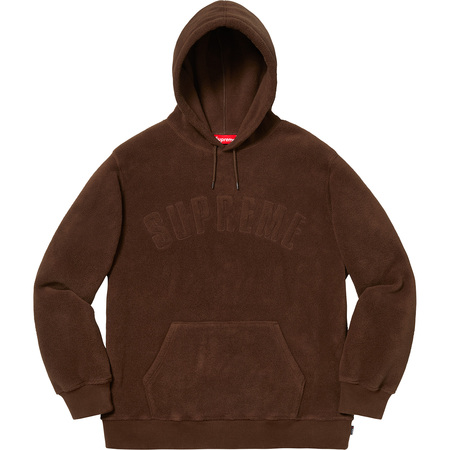 Polartec® Hooded Sweatshirt (Brown)