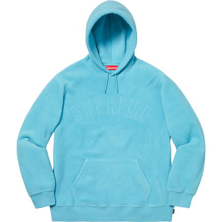 Polartec® Hooded Sweatshirt (Light Blue)
