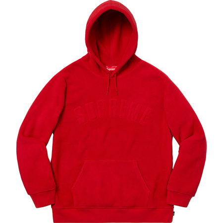 Polartec® Hooded Sweatshirt (Red)