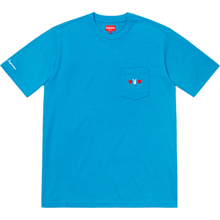 Supreme®/Playboy© Pocket Tee (Bright Royal)