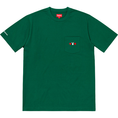 Supreme®/Playboy© Pocket Tee (Green)