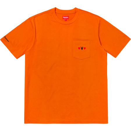 Supreme®/Playboy© Pocket Tee (Orange)