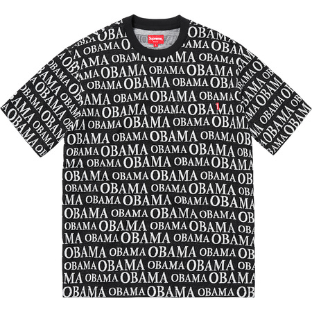 Obama Jacquard S/S Top (Black)