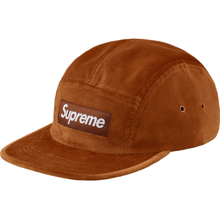 Velvet Camp Cap (Brown)