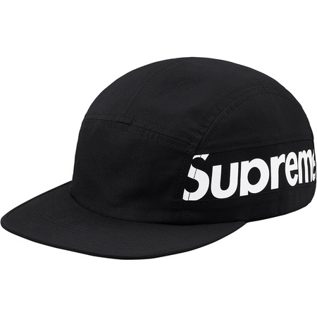 Side Panel Camp Cap (Black)