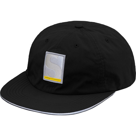 Performance Nylon 6-Panel (Black)