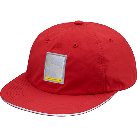 Performance Nylon 6-Panel (Red)