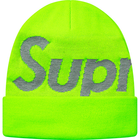 Big Logo Beanie (Bright Green)