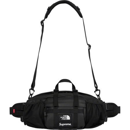 Supreme®/The North Face® Leather Mountain Waist Bag (Black)