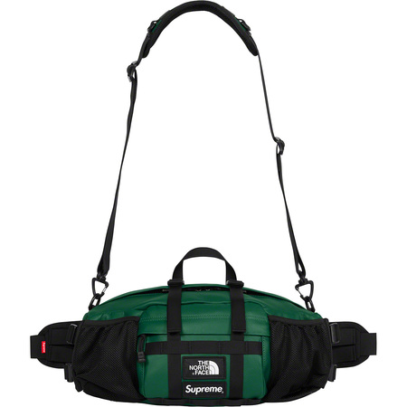 Supreme®/The North Face® Leather Mountain Waist Bag (Dark Green)