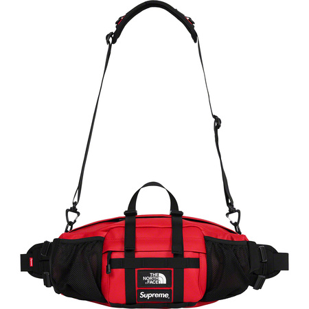 Supreme®/The North Face® Leather Mountain Waist Bag (Red)