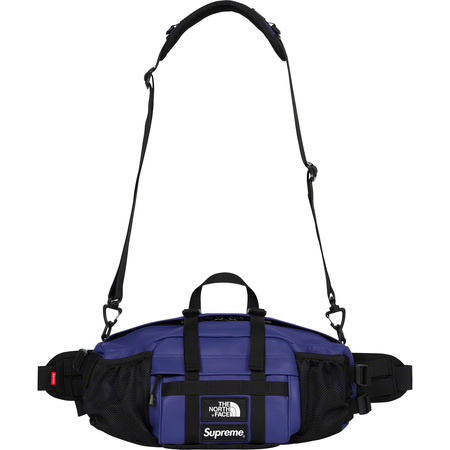 Supreme®/The North Face® Leather Mountain Waist Bag (Royal)