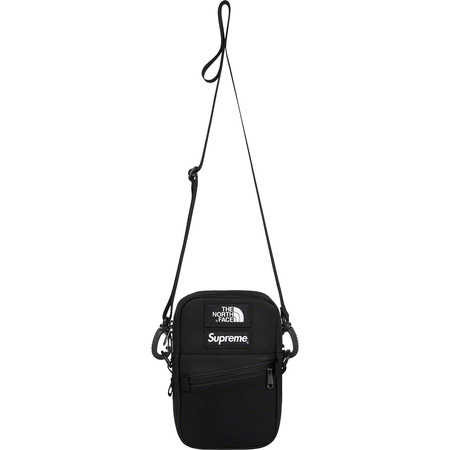 Supreme®/The North Face® Leather Shoulder Bag (Black)