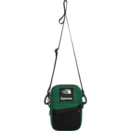 Supreme®/The North Face® Leather Shoulder Bag (Dark Green)