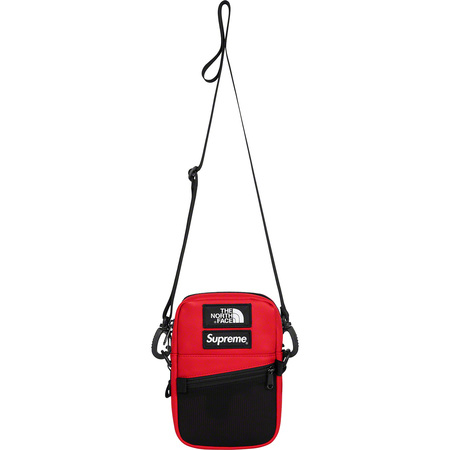 Supreme®/The North Face® Leather Shoulder Bag (Red)