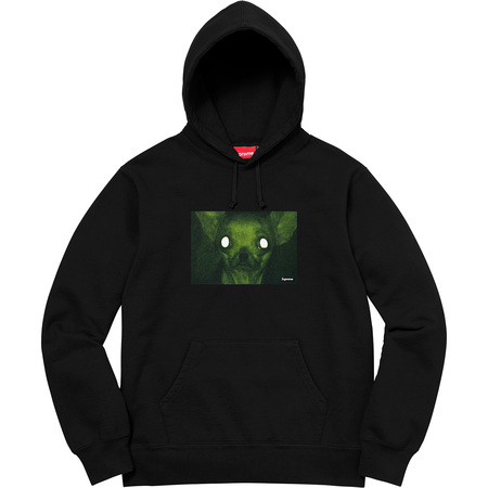 Chris Cunningham Chihuahua Hooded Sweatshirt (Black)