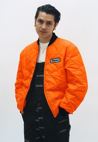 Spider Web Quilted Work Jacket Hanes® Thermal Crew Logo Denim Overalls