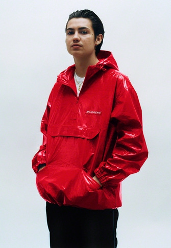 Crinkle Anorak S/S Pocket Tee Piping Track Pant