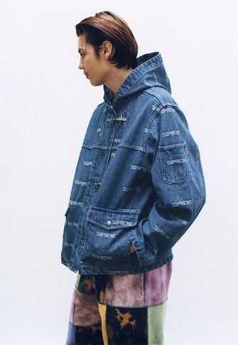 Logo Denim Turnout Jacket S/S Pocket Tee Patchwork Tie Dye Sweatpant