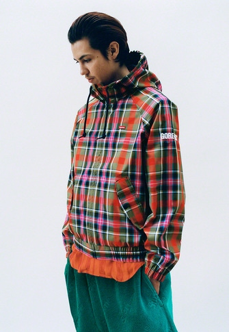 GORE-TEX Hooded Harrington Jacket Guadalupe S/S Shirt Terry Jacquard Logo Short