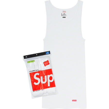 Supreme®/Hanes® Tagless Tank Tops<br>(3 Pack)
