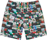 Labels Pique Short