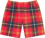Plaid Sweatshort